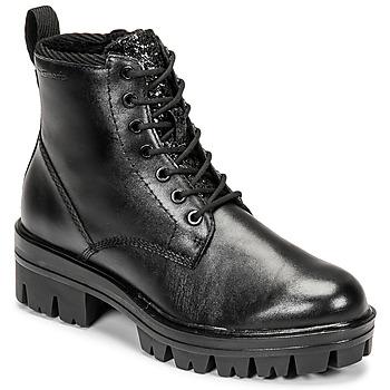 Sapatos Mulher Botas baixas Tamaris HOULI Preto