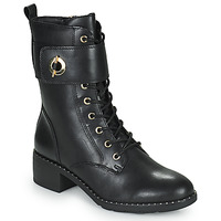 Sapatos Mulher Botins Tamaris SEEDRE Preto / Ouro