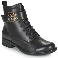 Sapatos Mulher Botas baixas Tamaris MOULIB Preto