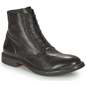 Sapatos Homem Botas baixas Moma MINSK Preto
