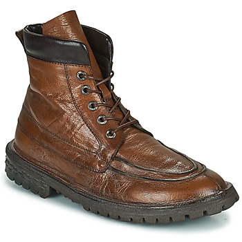 Sapatos Homem Botas baixas Moma COMBAT Castanho