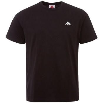 Textil Homem T-Shirt mangas curtas Kappa Iljamor T-Shirt Noir