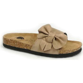 Sapatos Mulher Chinelos Bipedes pr1044 taupe Taupe