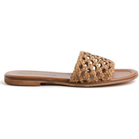 Sapatos Mulher Chinelos Bryan 1526 Castanho