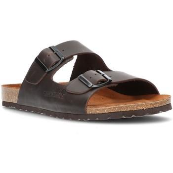 Sapatos Homem Chinelos Interbios CONFORTÁVEL  SANDAL 9560 MOKA