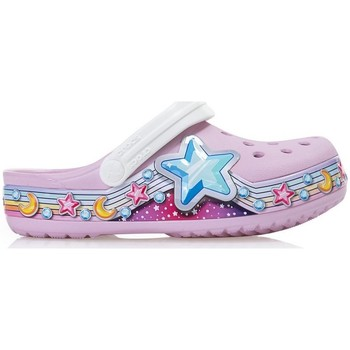Sapatos Criança Sandálias Crocs Fun Lab Cor-de-rosa