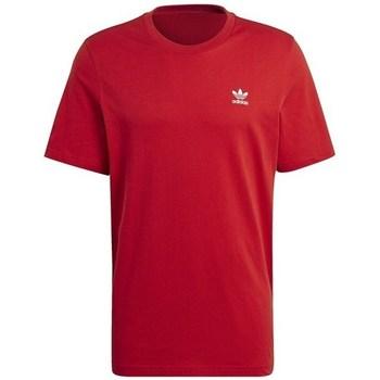Textil Homem T-Shirt mangas curtas adidas Originals Essential Tee Vermelho