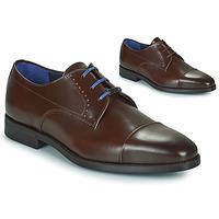 Sapatos Homem Sapatos Azzaro GARONNE Conhaque