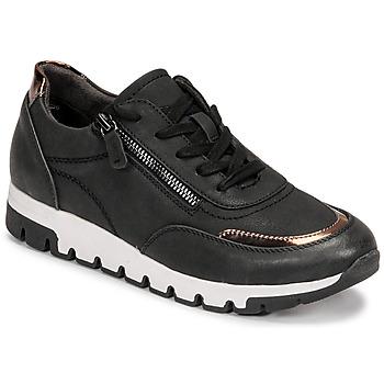 Sapatos Mulher Sapatilhas Jana GERFRA Preto