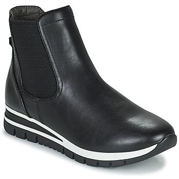 Sapatos Mulher Botas baixas Jana HOULIA Preto