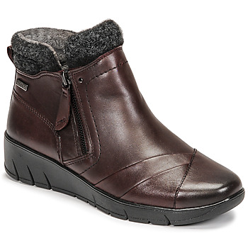 Sapatos Mulher Botas baixas Jana GHERRA Bordô