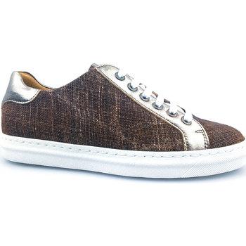 Sapatos Mulher Sapatilhas PintoDiBlu 20941-14 castanho