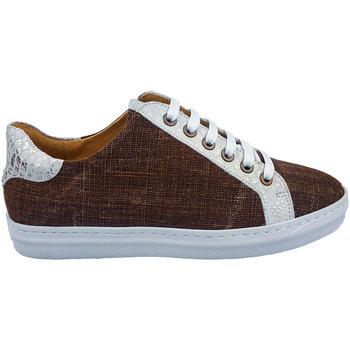 Sapatos Mulher Sapatilhas PintoDiBlu 20941-16 castanho