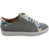 Sapatos Mulher Sapatilhas PintoDiBlu 20941-18 cinza