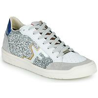 Sapatos Mulher Sapatilhas Serafini SAN DIEGO Prata / Branco