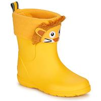 Sapatos Criança Botas de borracha Isotoner 99314 Amarelo