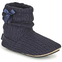 Sapatos Mulher Chinelos Isotoner 97720 Marinho