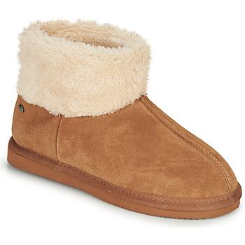Sapatos Mulher Chinelos Isotoner 97307 Camel