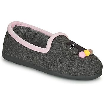 Sapatos Mulher Chinelos Isotoner 97311 Cinza / Rosa