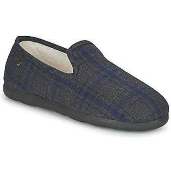 Sapatos Homem Chinelos Isotoner 98038 Cinza / Azul