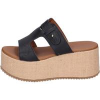 Sapatos Mulher Chinelos Sara Collection Sandálias BJ922 Preto