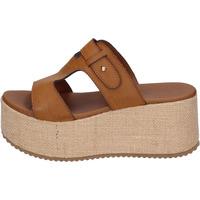 Sapatos Mulher Chinelos Sara Collection Sandálias BJ923 Castanho