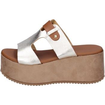 Sapatos Mulher Chinelos Sara Collection Sandálias BJ935 Prata