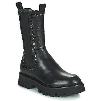 Sapatos Mulher Botas baixas Fru.it ALOISA Preto