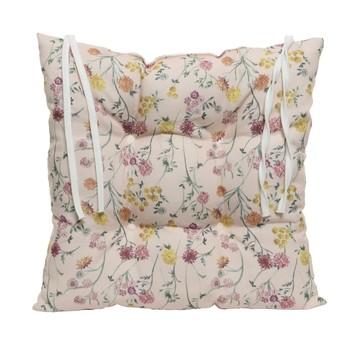 Casa Almofada de cadeira Decoris ALIX Rosa