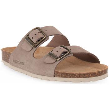 Sapatos Mulher Chinelos Grunland TAUPE 60 SARA Marrone