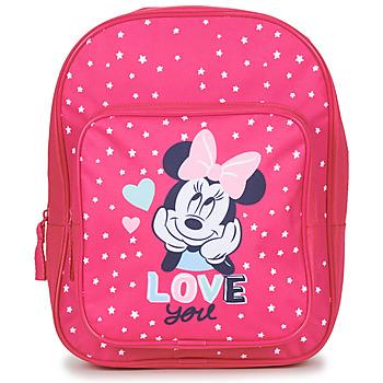 Malas Rapariga Mochila Disney SAC A DOS MINNIE 23 CM Rosa