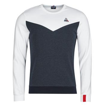 Textil Homem Sweats Le Coq Sportif SAISON 1 CREW SWEAT N 1 Marinho / Branco