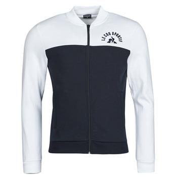 Textil Homem Casacos fato de treino Le Coq Sportif SAISON 2 FZ SWEAT N 1 Marinho / Branco