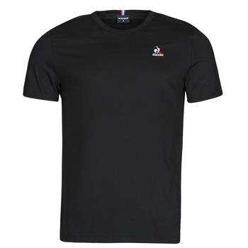 Textil Homem T-Shirt mangas curtas Le Coq Sportif ESS TEE SS N 3 M Preto