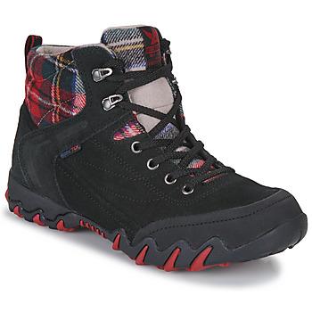 Sapatos Mulher Sapatos de caminhada Allrounder by Mephisto NIGATA TEX Preto / Vermelho