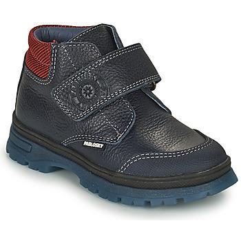 Sapatos Rapaz Botas baixas Pablosky 502923 Azul