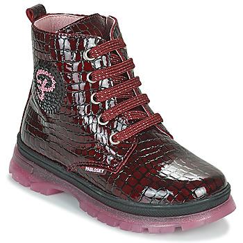 Sapatos Rapariga Botas baixas Pablosky 404167 Bordô