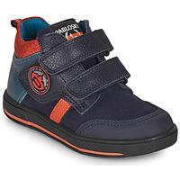 Sapatos Rapaz Botas baixas Pablosky 503523 Azul