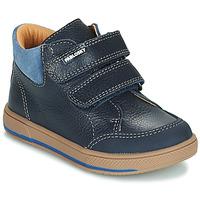 Sapatos Rapaz Botas baixas Pablosky 503723 Azul