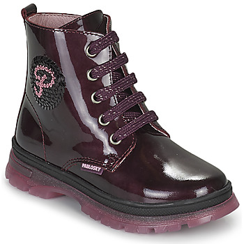 Sapatos Rapariga Botas baixas Pablosky 404099 Bordô