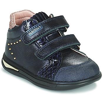 Sapatos Rapariga Sapatilhas de cano-alto Pablosky 6122 Marinho