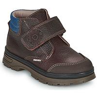 Sapatos Rapaz Botas baixas Pablosky 502993 Castanho