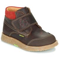 Sapatos Rapaz Botas baixas Pablosky 502593 Castanho