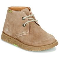 Sapatos Rapaz Botas baixas Pablosky 502148 Camel