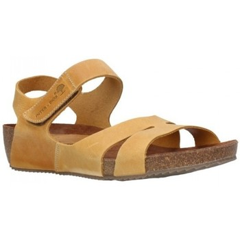 Sapatos Mulher Sandálias Interbios 5368 crazy mostaza Mujer Amarillo jaune