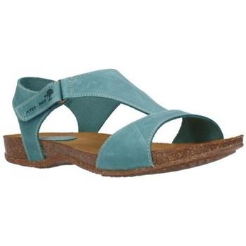 Sapatos Mulher Sandálias Interbios 4420 crazy jeans Mujer Jeans bleu