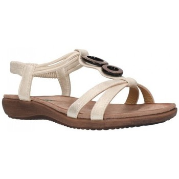 Sapatos Mulher Sandálias Amaspies AMARPIES ABZ17064 Mujer Platino Argenté