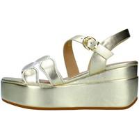 Sapatos Mulher Sandálias Luciano Barachini GL123E Ouro