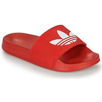 Sapatos chinelos adidas Originals ADILETTE LITE Vermelho