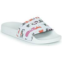 Sapatos Mulher chinelos adidas Originals ADILETTE W Branco / Flor